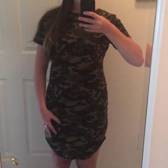 c522a72702 Ardene Dresses | Bodycon Camo Dress | Poshmark